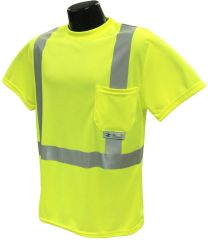 Radians Class 2 Mesh Safety Shirt - Yellow - Medium
